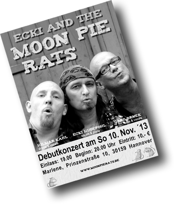Moon Pie Rats Flyer